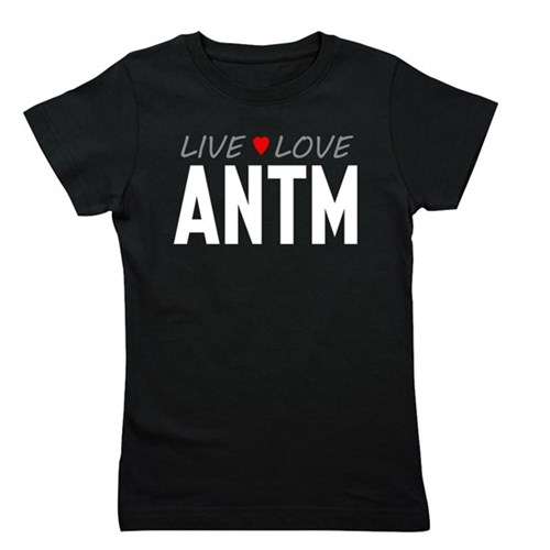 Live Love ANTM Girl's Dark Tee
