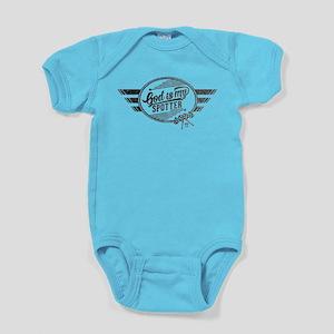 God is My Spotter Baby Bodysuit