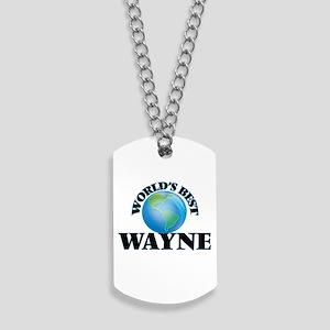 World's Best Wayne Dog Tags