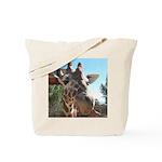 Giraffe (T) Tote Bag
