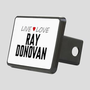 Live Love Ray Donovan Rectangular Hitch Cover
