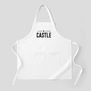 Live Love Castle Apron
