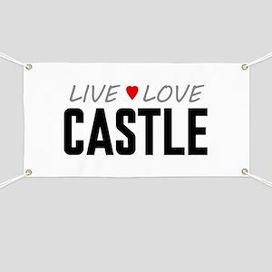Live Love Castle Banner