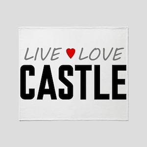Live Love Castle Stadium Blanket