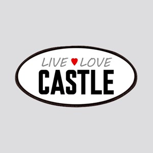 Live Love Castle Patches