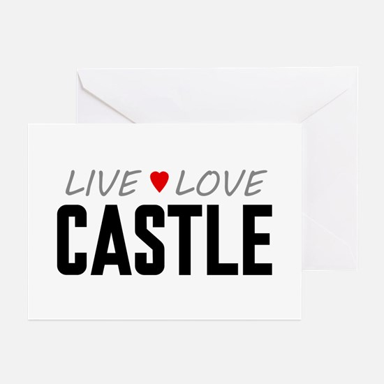 Live Love Castle Greeting Cards (10 pack)