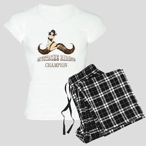 Mustache Riding Champion Pajamas