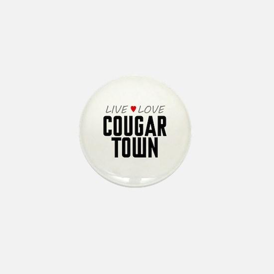 Live Love Cougar Town Mini Button