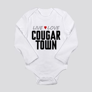 Live Love Cougar Town Long Sleeve Infant Bodysuit
