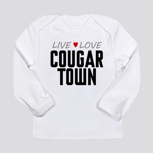 Live Love Cougar Town Long Sleeve Infant T-Shirt