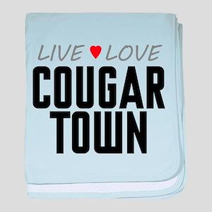 Live Love Cougar Town Infant Blanket