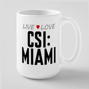 Live Love CSI: Miami Large Mug