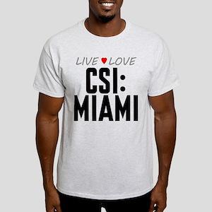 Live Love CSI: Miami Light T-Shirt