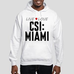 Live Love CSI: Miami Hooded Sweatshirt