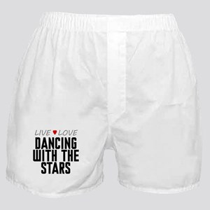 Live Love Dancing With the Stars Boxer Shorts
