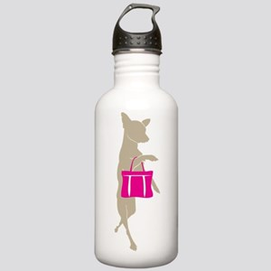 Chihuahua Shopping wit Stainless Water Bottle 1.0L