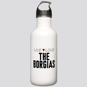 Live Love The Borgias Stainless Water Bottle 1.0L
