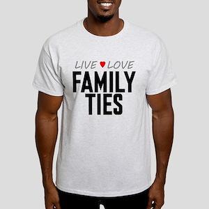 Live Love Family Ties Light T-Shirt