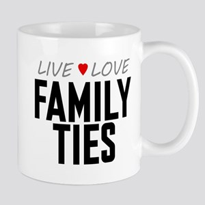 Live Love Family Ties Mug