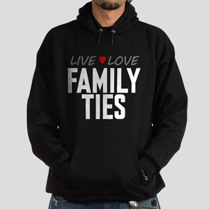 Live Love Family Ties Dark Hoodie