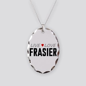 Live Love Frasier Necklace Oval Charm