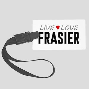 Live Love Frasier Large Luggage Tag