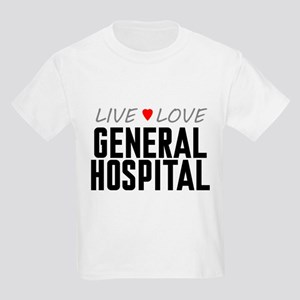 Live Love General Hospital Kids Light T-Shirt