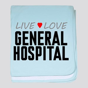 Live Love General Hospital Infant Blanket