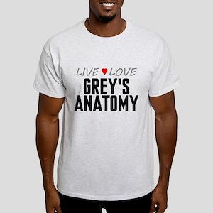 Live Love Grey's Anatomy Light T-Shirt