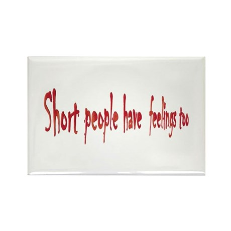 Short People Rectangle Magnet
