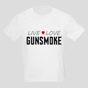 Live Love Gunsmoke Kids Light T-Shirt