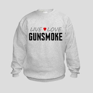 Live Love Gunsmoke Kids Sweatshirt