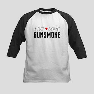 Live Love Gunsmoke Kids Baseball Jersey