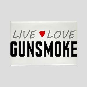 Live Love Gunsmoke Rectangle Magnet