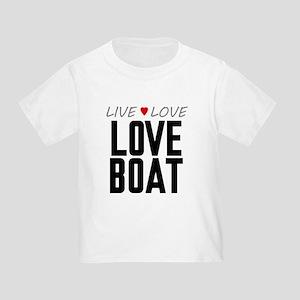 Live Love Love Boat Infant/Toddler T-Shirt