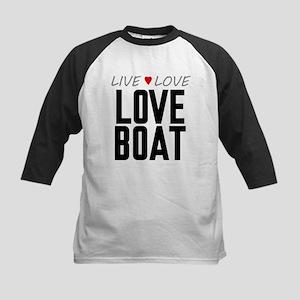 Live Love Love Boat Kids Baseball Jersey