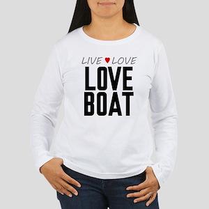 Live Love Love Boat Women's Long Sleeve T-Shirt