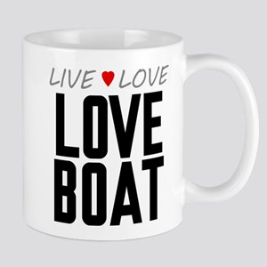 Live Love Love Boat Mug