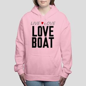 Live Love Love Boat Women's Hooded Sweatshirt