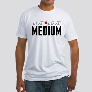 Live Love Medium Fitted T-Shirt