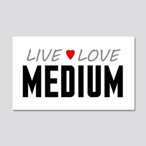 Live Love Medium 22x14 Wall Peel