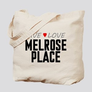 Live Love Melrose Place Tote Bag