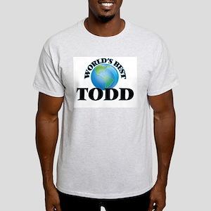 World's Best Todd T-Shirt