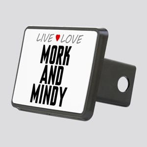 Live Love Mork and Mindy Rectangular Hitch Cover