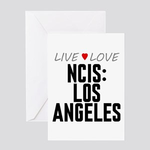 Live Love NCIS: Los Angeles Greeting Card