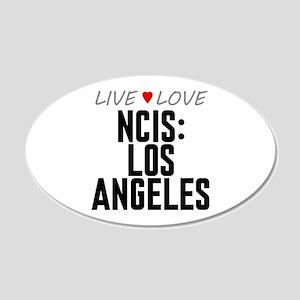 Live Love NCIS: Los Angeles 22x14 Oval Wall Peel