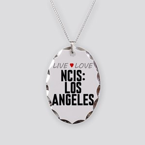 Live Love NCIS: Los Angeles Necklace Oval Charm