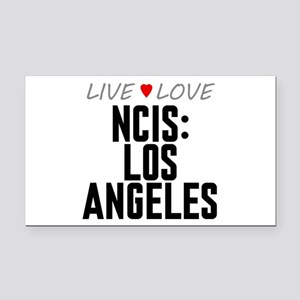 Live Love NCIS: Los Angeles Rectangle Car Magnet