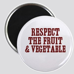 respect the fruit & vegetable Magnet