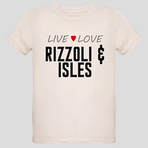 Live Love Rizzoli & Isles Organic Kid's T-Shirt